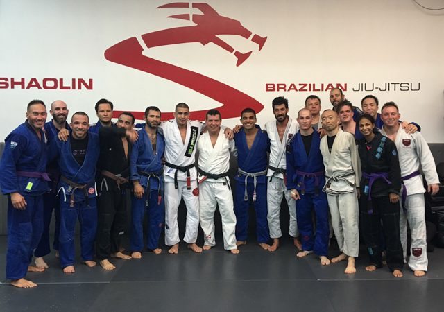 Vitor Shaolin receives fifth degree to his black belt from Dedé Pederneiras