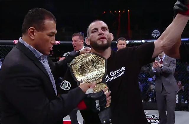 Vídeo: A vitória do ex-UFC Jon Fitch pelo cinturão meio-médio do WSOF