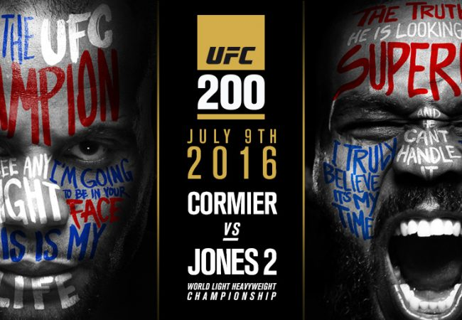 UFC 200: Cormier vs. Jones announced as new main event to replace Diaz vs. McGregor