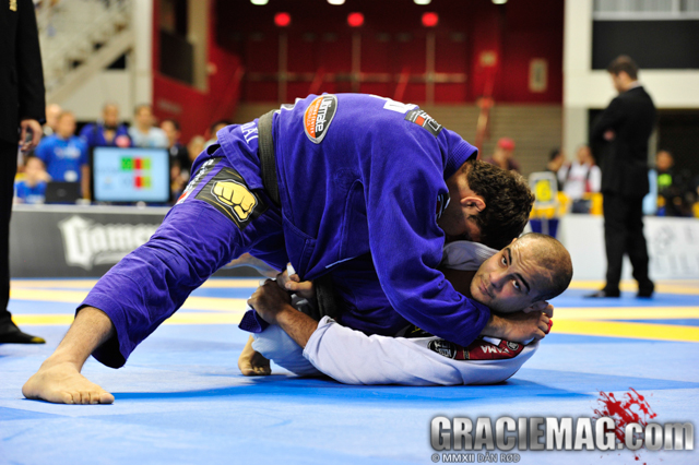 Buchecha vs. Faria at the 2013 Worlds