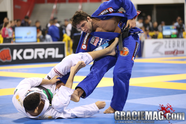 Buchecha vs. Pena at the 2014 Worlds