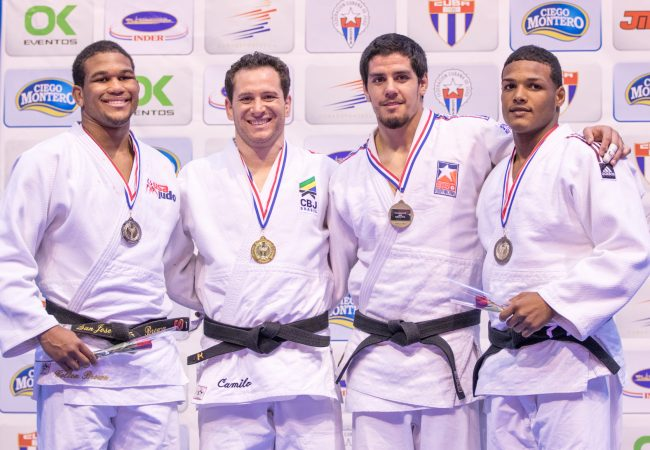 Brasil domina Pan de judô e fica em primeiro lugar com 17 medalhas