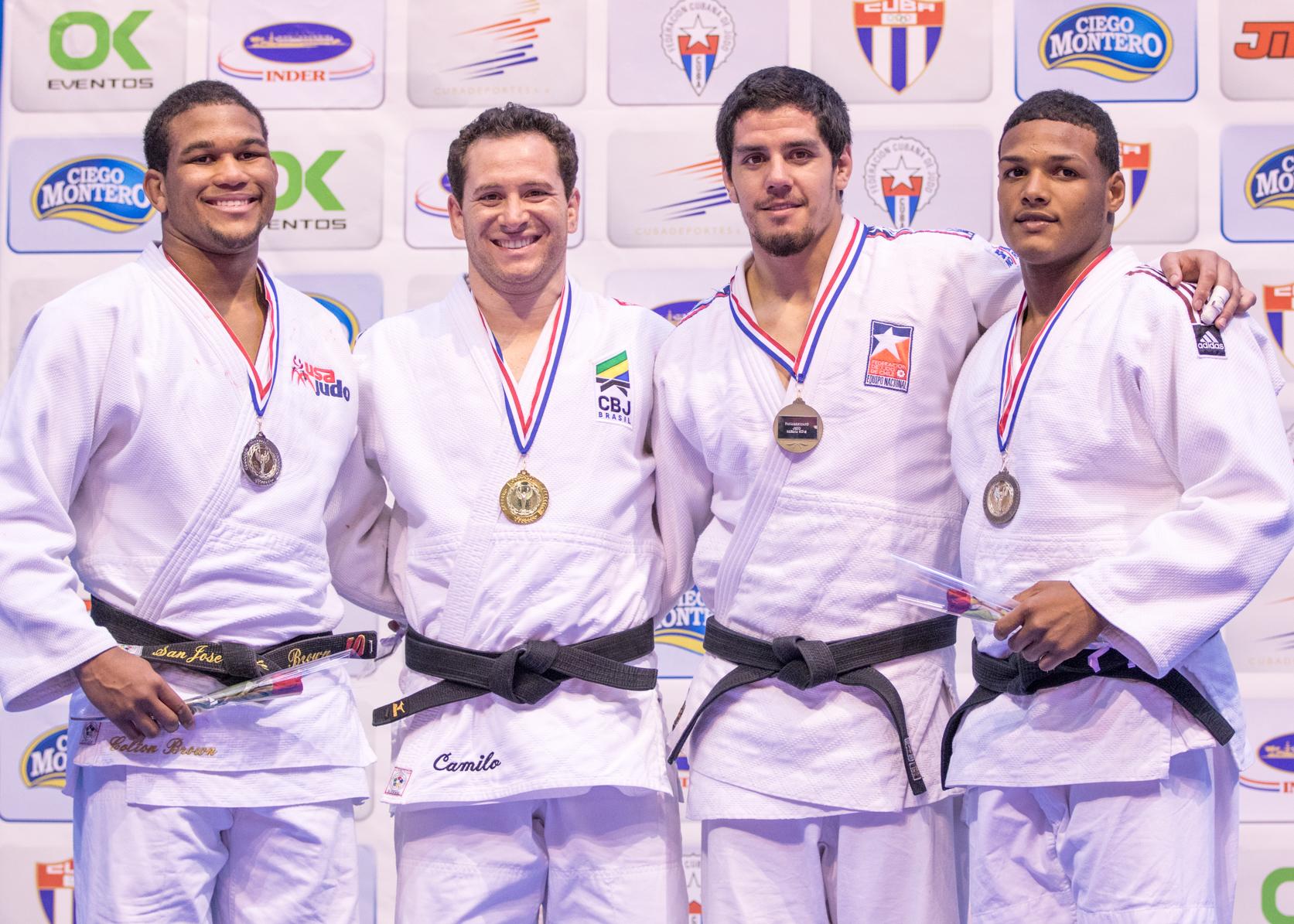 Seleção conquistou sete ouros, quatro pratas e seis bronzes. Rafael Silva (+100kg) e Tiago Camilo (90kg) foram campeões. Foto: Divulgação