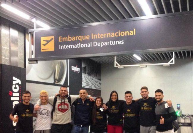 Seleção Prime de Jiu-Jitsu embarca para os EUA rumo ao Mundial da IBJJF