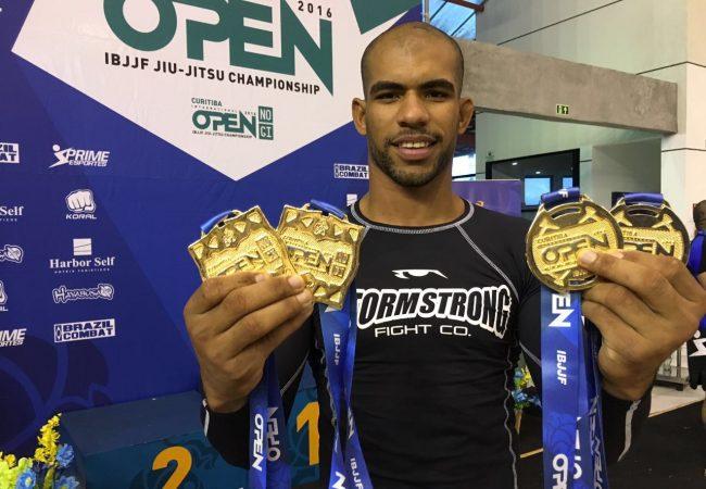 Curitiba Open: Erberth Santos e Talita Treta brilham com quatro ouros cada