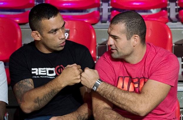 Vídeo: Fabrício Werdum treina Jiu-Jitsu com Maurício Shogun para o UFC 198