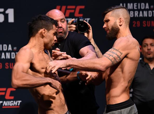 Vídeo: Thominhas, Barão e as encaradas para o UFC deste domingo, em Vegas