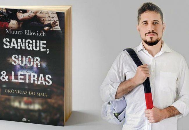 Comentarista de MMA lança livro nesta quinta-feira em Curitiba