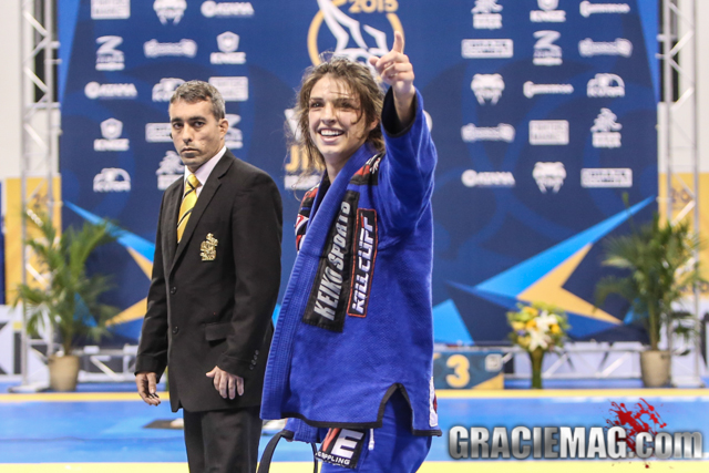 Countdown to the 2016 Worlds: Mackenzie Dern feeling no pressure before another try at open class gold in Long Beach