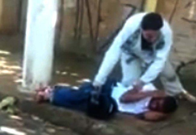 Vídeo: Professor e alunos de Jiu-Jitsu imobilizam assaltantes na porta da academia