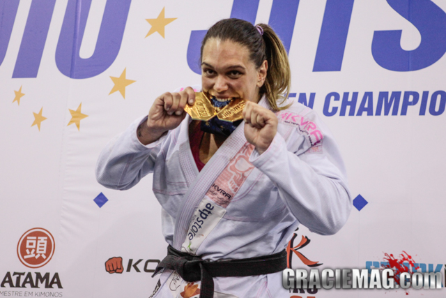 Countdown to the 2016 Worlds: Gabi Garcia returns to the Pyramid to feel the thrills of competing in the gi once again