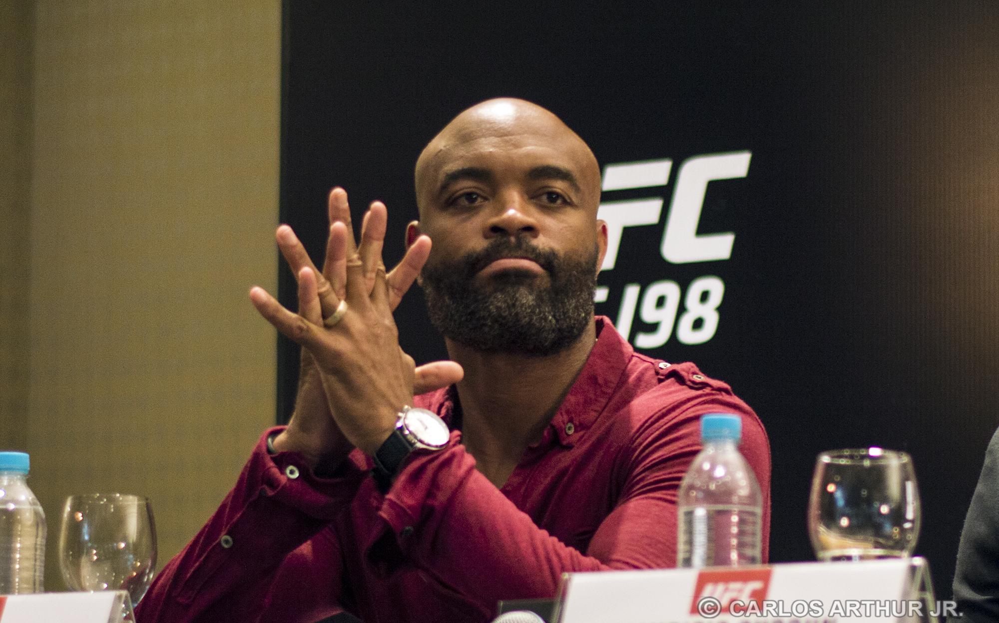 Anderson teve de deixar o card do UFC em Curitiba na semana do evento. Foto: Carlos Arthur Jr.