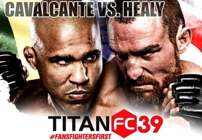 Vídeo: Gesias Cavalcante nocauteia ex-UFC pelo cinturão do Titan