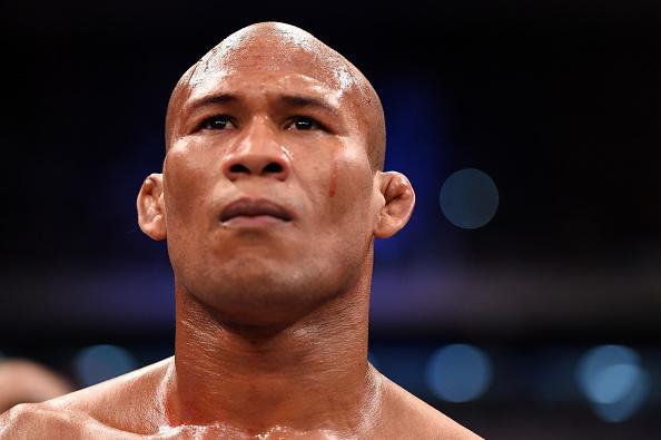 """Jacaré disse que encara Bisping """"até na lua"""" se for preciso. Foto: Josh Hedges/ZUffa LLC via Getty Images"""