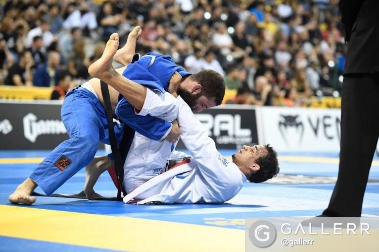 Com cinco ouros, Barral fecha sua trajetória no Mundial da IBJJF. Foto: Gallerr.com