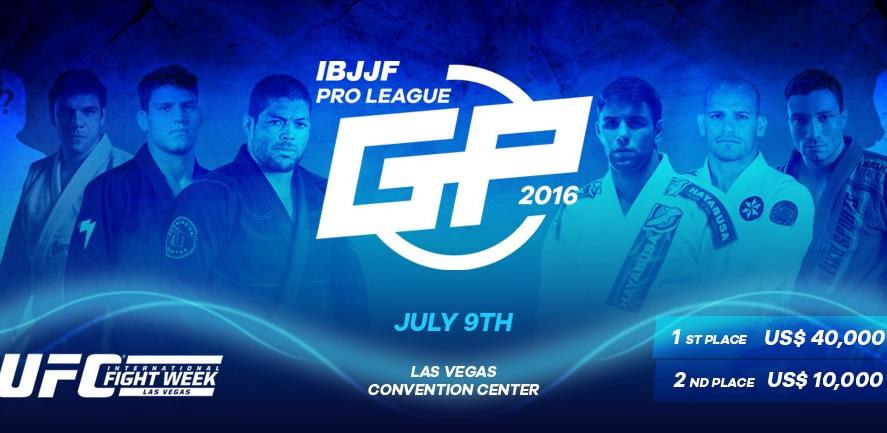 Novo banner do IBJJF Pro League GP, já com Preguiça incluso. Foto: Reprodução