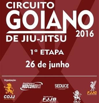 O Goiano de Jiu-Jitsu ocorre no próximo fim de semana.