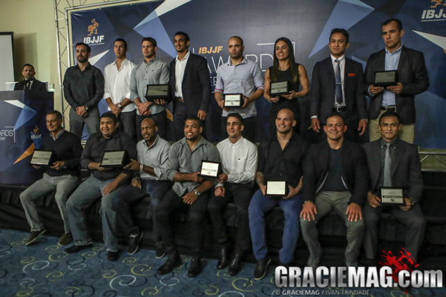 2016 IBJJF awards ceremony