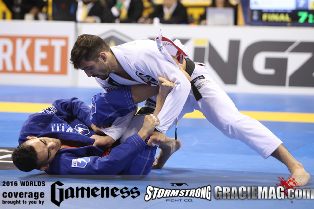 Najmi vs. Lepri at the 2016 Worlds