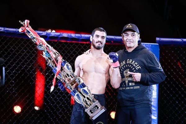 Kron Gracie volta ao MMA para encarar um experiente japonês. Foto: Divulgação