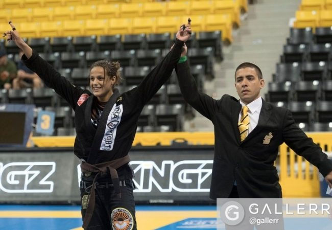 Mundial 2016: Nicholas Meregali e Nathiely reinam na faixa-marrom