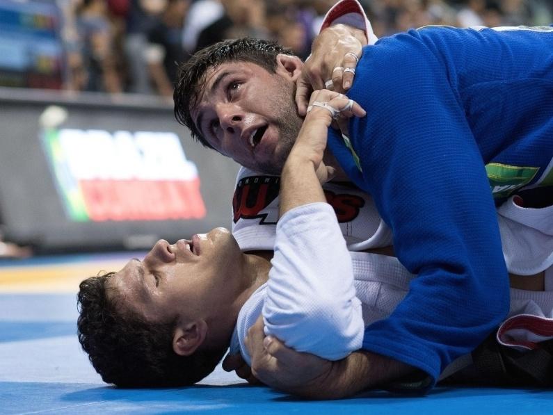 Marcus Buchecha x Felipe Preguica no absoluto Foto Luca Atalla