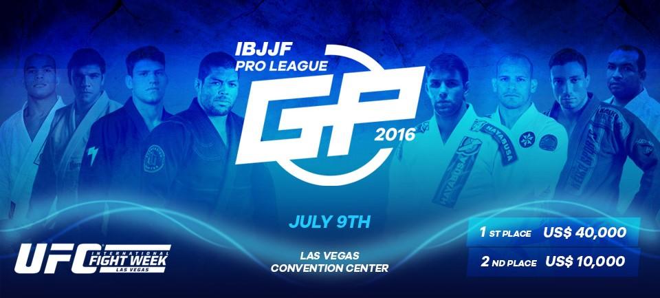 Com o card fechado, IBJJF Pro League GP promete ser uma das grandes atrações da UFCFight Week. Foto: Reprodução