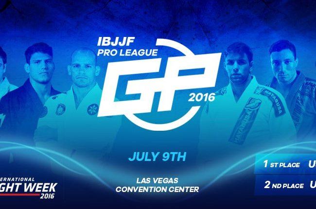 Assista ao IBJJF Pro League GP ao vivo e grátis pela internet