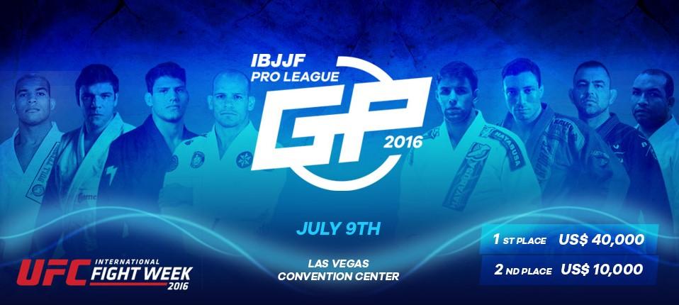 Novo banner do IBJJF Pro League GP,  já com a adição de Ceconi. Foto: Reprodução