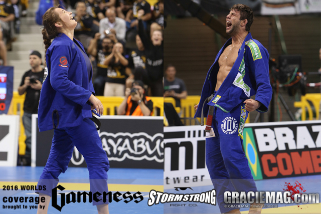 2016 Worlds: Buchecha makes history with unprecedented 4th open class title, Dominyka wins back to back; other results