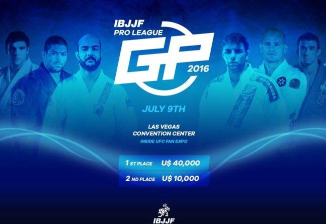 IBJJF Pro League GP reúne grandes nomes do Jiu-Jitsu na UFC Fan Expo