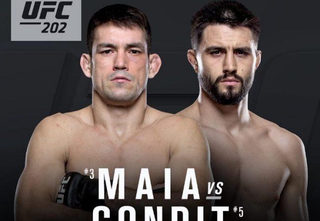 Demian Maia encara Carlos Condit de olho no cinturão meio-médio do UFC
