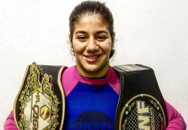 Faixa-marrom de Jiu-Jitsu invicta no MMA, Ketlen Vieira assina com o UFC