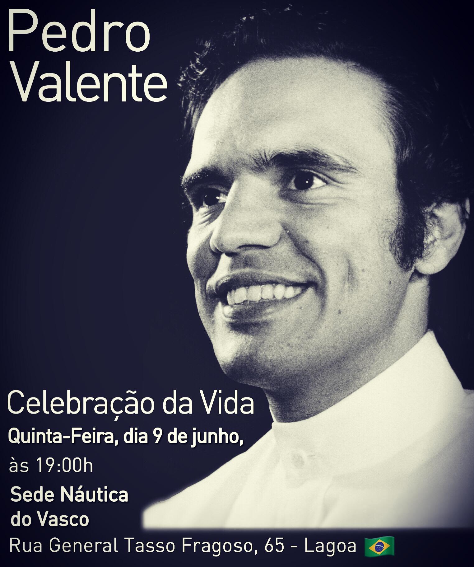 Grande mestre Pedro Valente nos deixou no dia 28 de junho de 2016.
