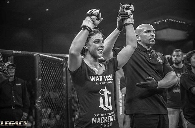 Mackenzie Dern wins by decision at LFA, remains undefeated