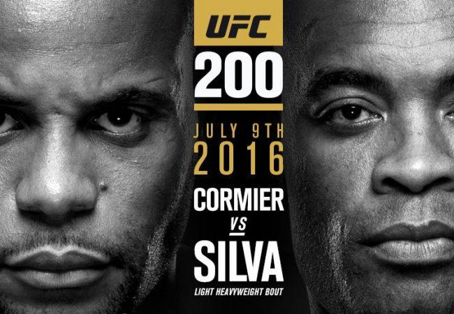 Confirmado: Anderson Silva encara Daniel Cormier no UFC 200