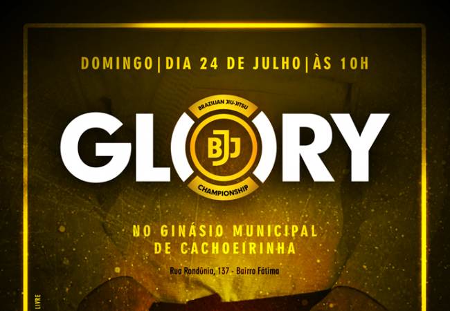 Rio Grande do Sul recebe 1° edição do Glory Jiu-Jitsu Championship