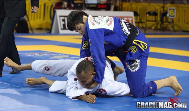 Watch how João Miyao got a choke for conquers a gold at Austin Open BJJ