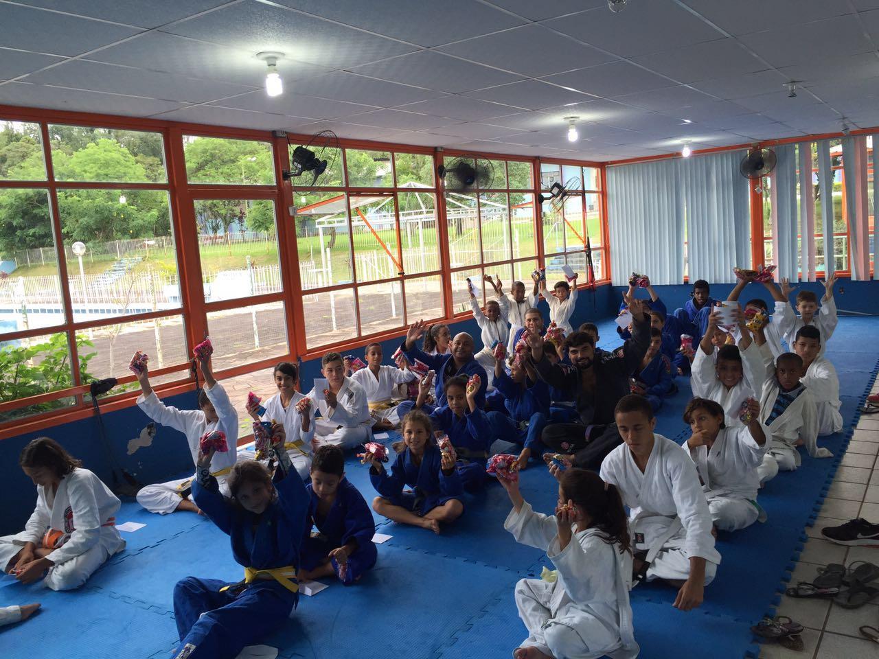 Projeto Gurizada em Porto Alegre: referencia no Jiu Jitsu Foto Divulgacao