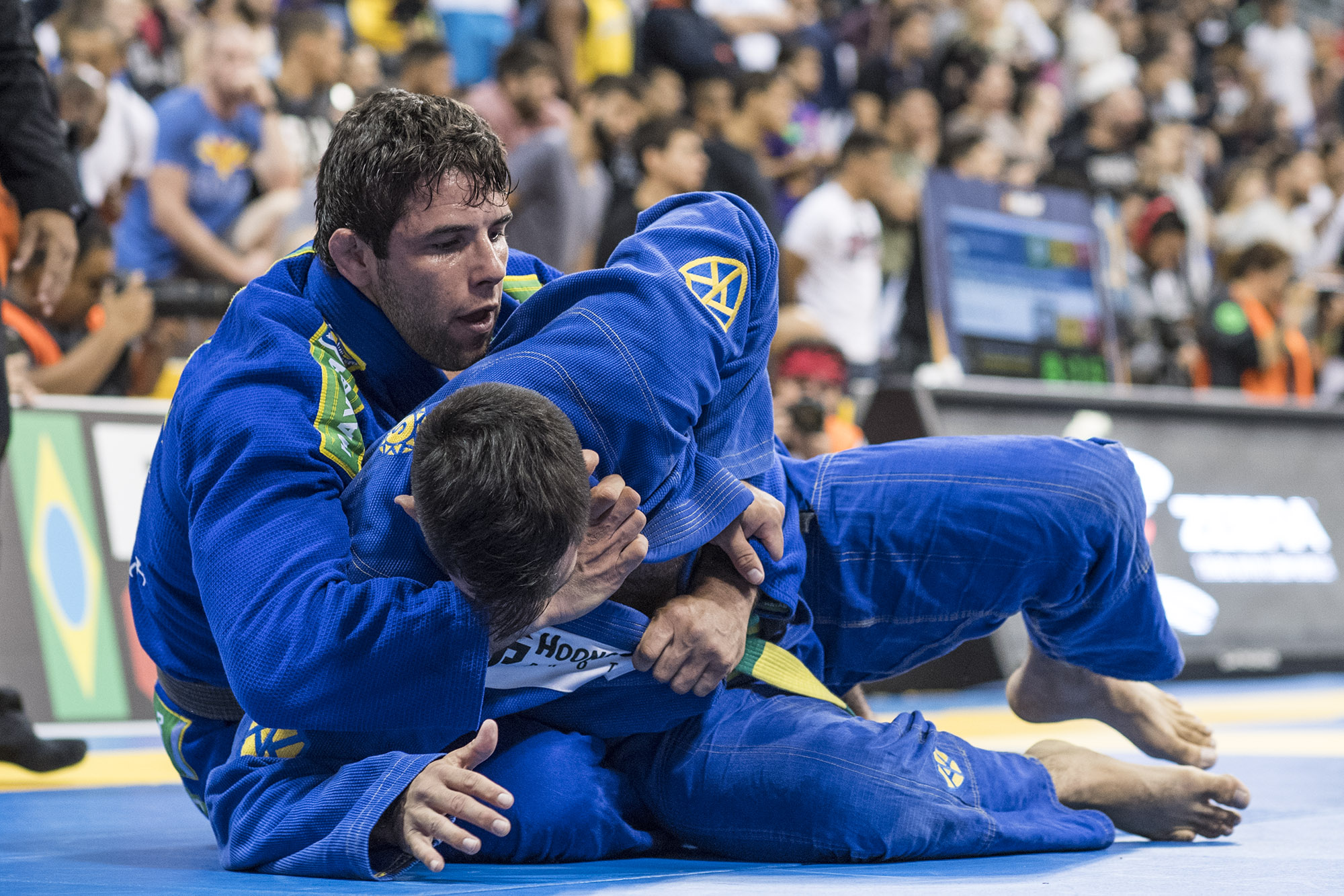 Marcus Buchecha competing during the BJJ Worlds 2016