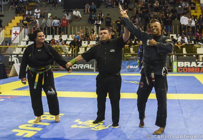 Rio Open: Aos 45 anos, Karla Hipólito é ouro no adulto faixa-preta e quer mais