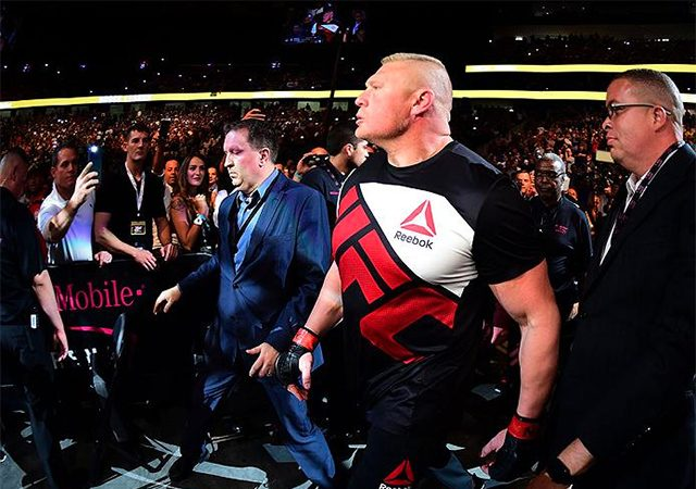 Brock Lesnar also tested positive in-competition test at UFC 200