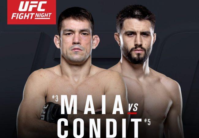Demian Maia faz luta principal contra Carlos Condit no UFC no Canadá