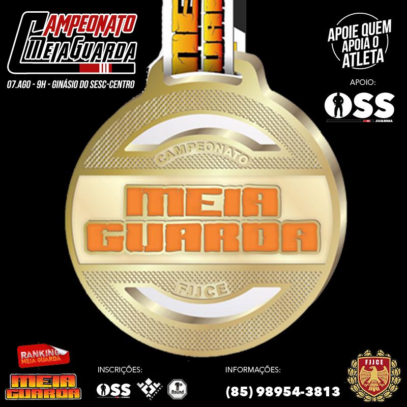 Fortelaza vai ferver com o Campeonato Meia Guarda de Jiu-Jitsu. Foto: Divulgação