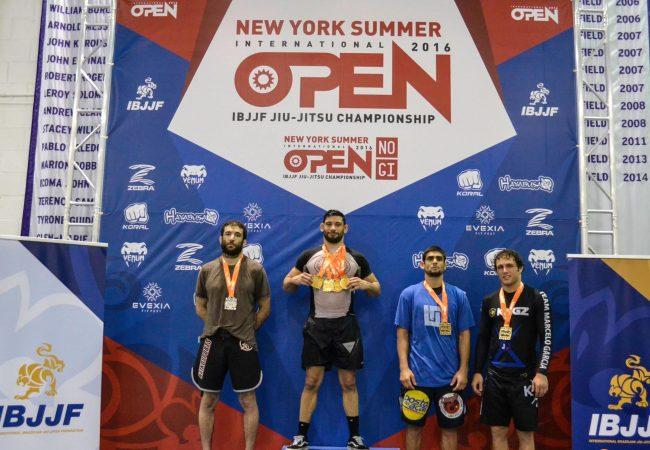 Watch Matheus Diniz vs. Murilo Santana at NY Summer Open No Gi absolute final