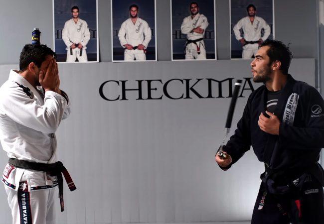 """Vídeo: Como o """"ninja"""" Panza arriscou a pele de Buchecha antes do Mundial de Jiu-Jitsu"""