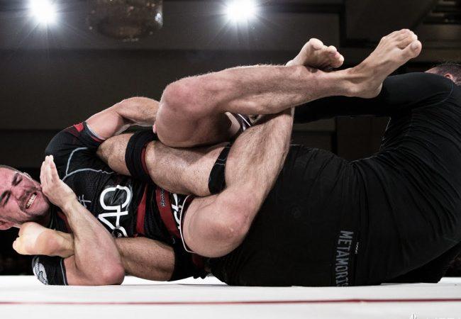 Garry Tonon teaches Ralek Gracie the leg lock used to decide their Metamoris 7 bout