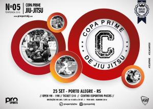 Banner da próxima Etapa da Copa Prime. Foto: Divulgação