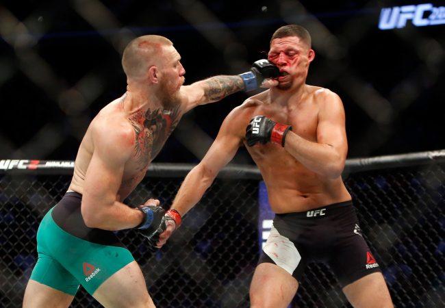 UFC 202: McGregor supera Nate Diaz em duelo de 5 rounds