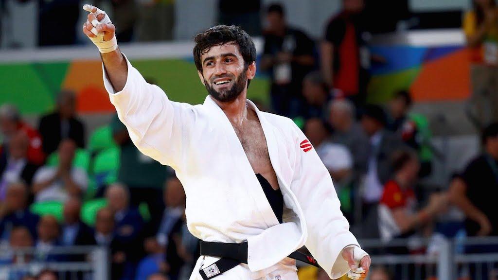 O campeão russo Beslan Mudranov. Foto: Rio 2016/Divulgação